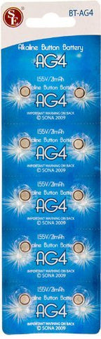 SE - Battery - AG4 Button Cell, 10 Pc