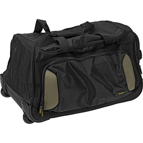 Targus City Gear Rolling Duffle, Black