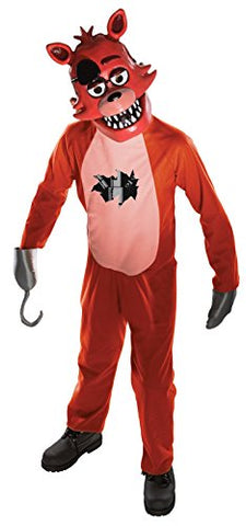 Five Nights Child's Value-Priced  at Freddy's Foxy Costume, Large