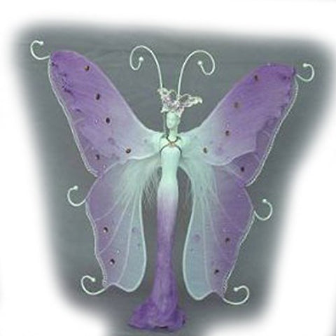 Jewelry Doll Organizer Butterfly Stand Approx 13  Tall