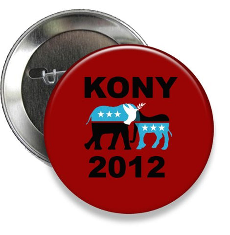 Kony 2012 Button (3 Inch Button)
