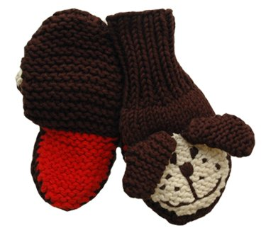 Zooni Wear Zooni Mittens Puppy Love