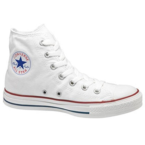 CONVERSE ALL STAR CHUCK TAYLOR HI TOP OPTICAL WHITE M7650 UNISEX SHOES US SIZE MEN 11/WOMEN 13