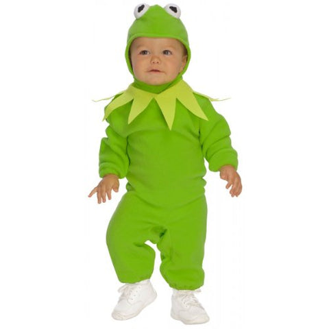 The Muppets Romper Costume, Kermit, Toddler Size