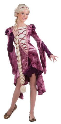 Rubie's Drama Queens Tween Princess of the Tower Costume - Tween Small (0-2)