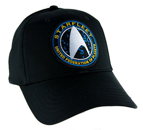 Starfleet Enterprise Star Trek Hat Baseball Cap Alternative Clothing Cosplay