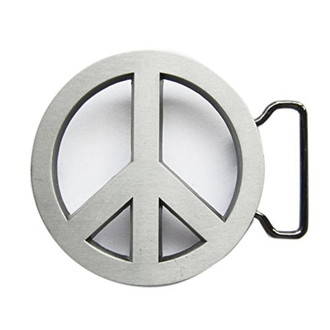 New Vintage Peace Symbol Love Sign Belt Buckle Gurtelschnalle Boucle
