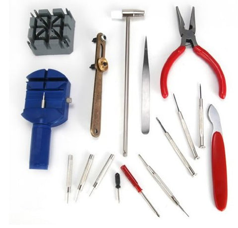 Watch Repair Tool Kit, 16 Pc