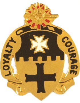 5th Cavalry Unit Crest (Loyalty Courage)