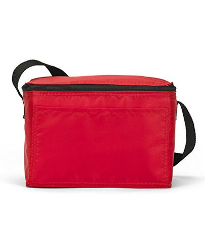 ULTRACLUB (r) Six-Pack Cooler>One size Red 1691