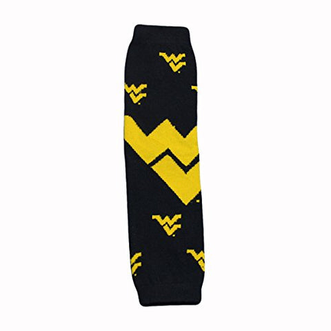 West Virginia University - Large Logo - Baby & Kids Leg Warmers