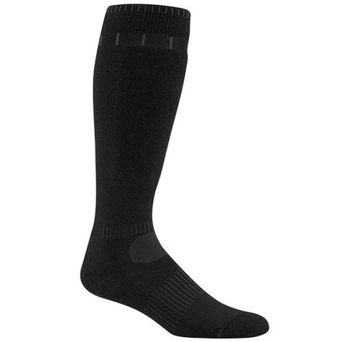 Wigwam Snow Silver Ski Snowport Socks (1 PAIR) 052 BLACK ADULT MD