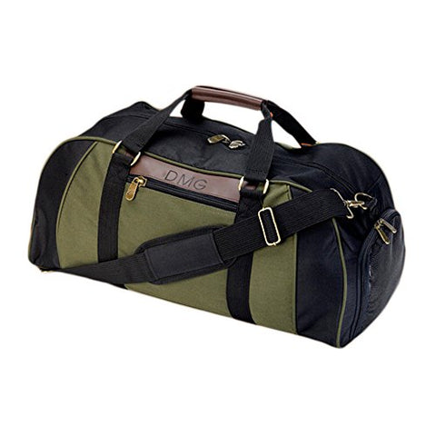 Personalized JDS Gifts Outdoor Travel Logan Deluxe Duffle Bag