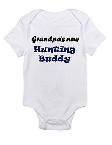 Grandpas Hunting Buddy Infant Baby Onesie 0 / 3 Months Month