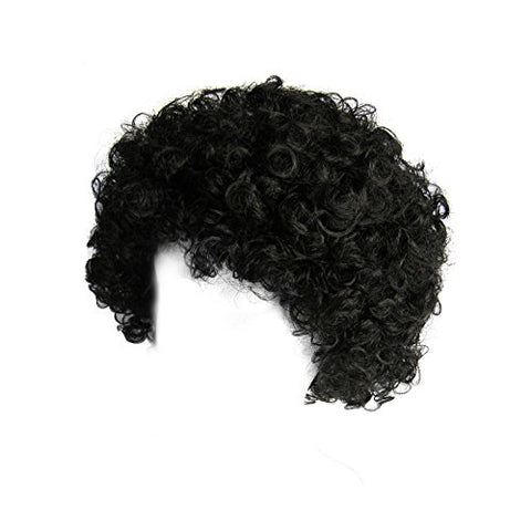 SeasonsTrading Economy Black Afro Wig ~ Halloween Costume Party Wig (STC13032)