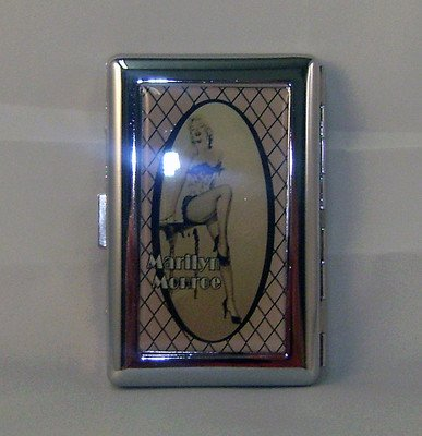 Metal Marilyn Monroe Business Card Case