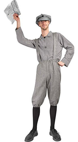 Adult Newsboy Halloween Costume