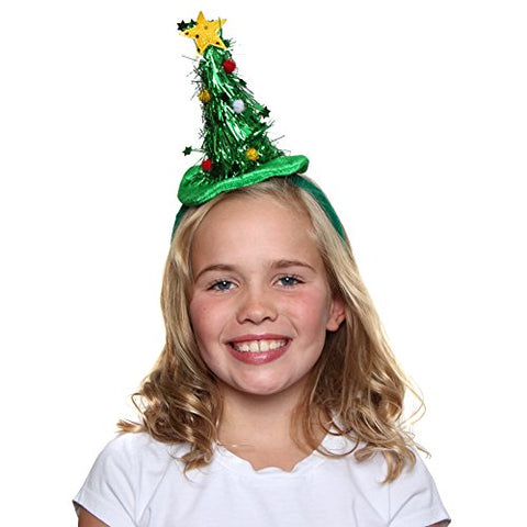 Tinsel Tree Headband