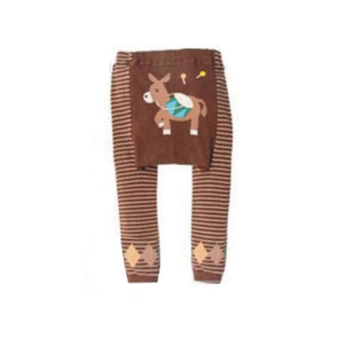 Wrapables Baby & Toddler Leggings, Donkey and Drum - 24 to 36 Months