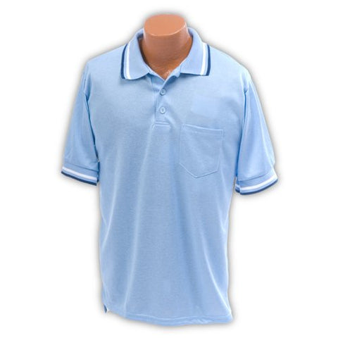 Bsn Sports Umpire Shirt, Light Blue, Medium