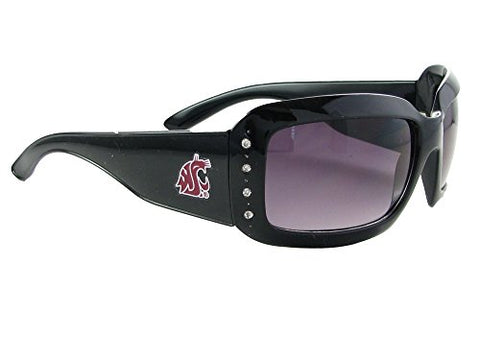 Washington State Cougars WSU Black Fashion NCAA Sunglasses S4JT