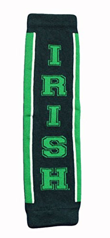 University of Notre Dame Fighting Irish Baby and Child Leg Warmers - Irish Stripe