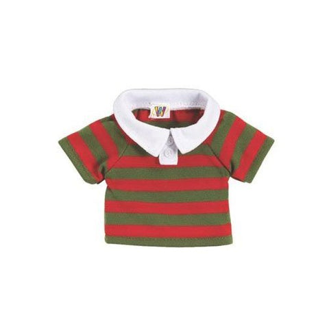 Webkinz Clothing RED and GREEN POLO SHIRT