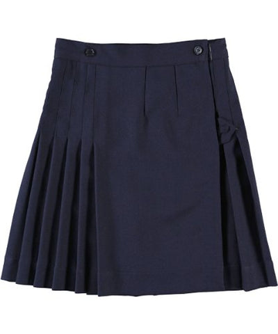 Cookie's Brand Big Girls' Kilt Skirt with Tabs - navy, 14