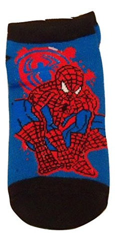 Spiderman Spidersense Socks ~ Sets and Singles (Size6.5-8) (Crouch Black Toe)