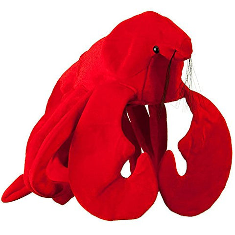Plush Lobster Hat