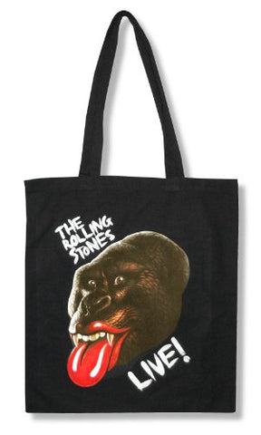 The Rolling Stones  GRRR Live  2013 Tour Black Tote Bag