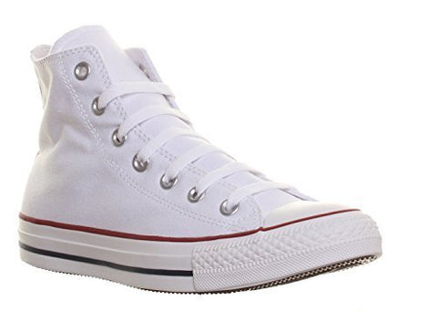 Unisex Chuck Taylor All Star High Top Sneakers (5 (MEN) / 7 (WOMEN) US, Optical White)