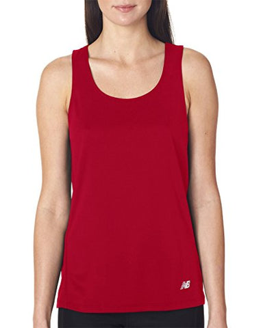 New Balance N9138L Ladies Tempo Running Singlet - Cherry Red - 2XL