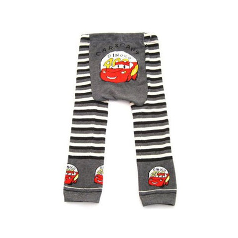 Wrapables Baby & Toddler Leggings, Red Racing Car - 6 to 12 Months