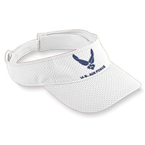 Visor with Embroidered Air Force Logo - LP062580