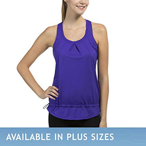32 Degrees Weatherproof Ladies' Active Yoga Tank - Purple, 2X