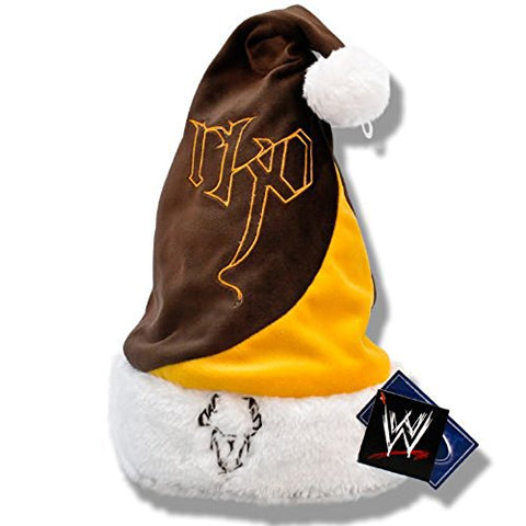 WWE Randy Orton Brown & Orange Santa Hat