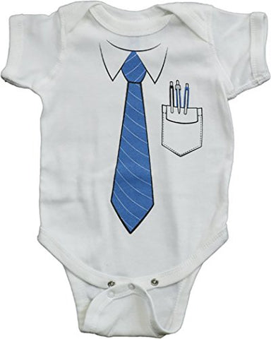 Unisex Nerd Baby IT Office Computer Geek Costume One Piece Romper (18 Month)