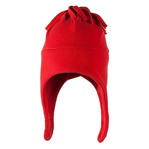 Obermeyer Kids Orbit Fleece Hat Red 1-4