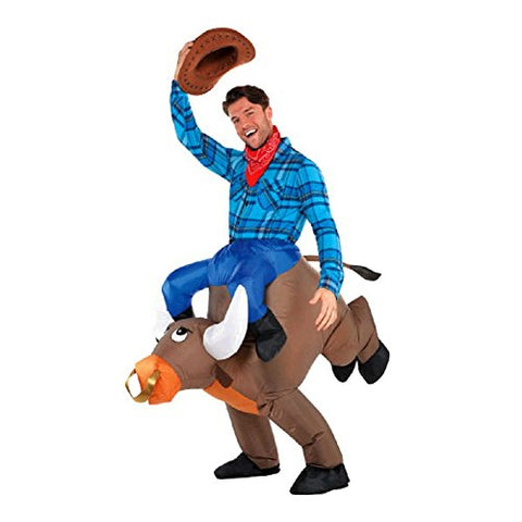 Men's Inflatable Bull Cowboy Costume