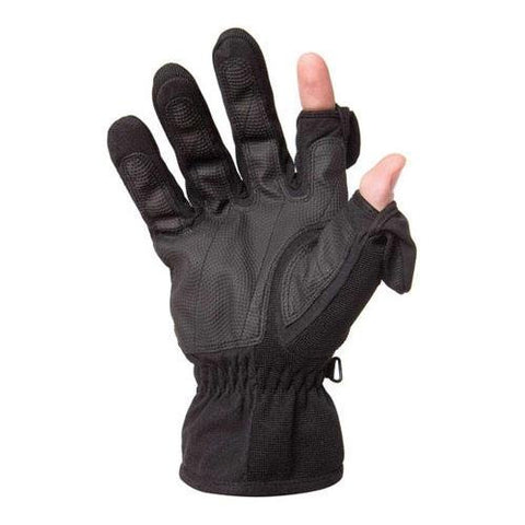 Freehands Mens Stretch Gloves - Black, X-Large