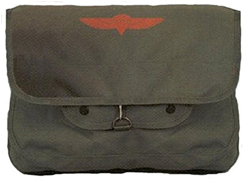 OD Israeli Paratrooper Shoulder Bag