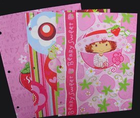 Strawberry Shortcake Folder Set - Strawberry Shortcake Folder (3 Folders)