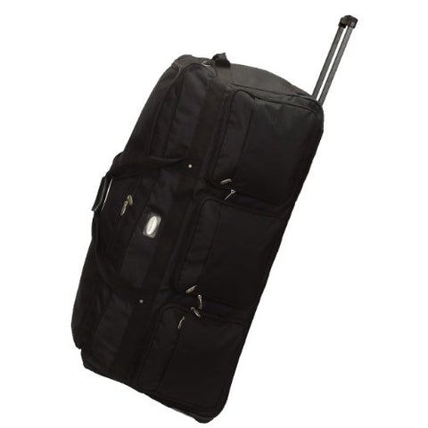 Transworld Luggage 42  Jumbo Rolling Duffle Bag (Oversized Check In)