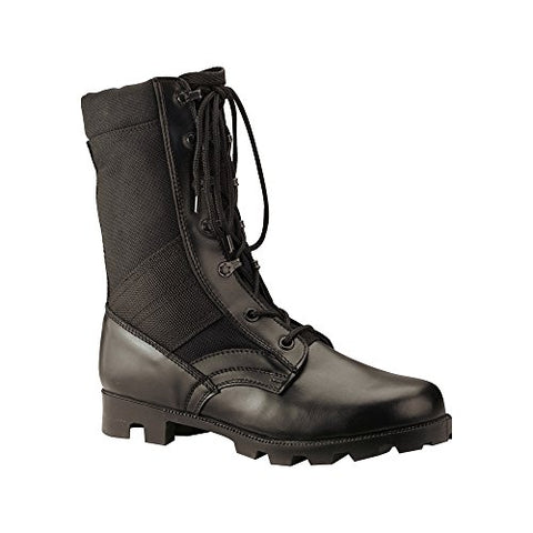 RC-5090-9R-BLK Rothco Mens Boots - Jungle GI Type Speedlace, Black By
