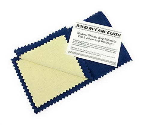 Polishing Cloth for Silver, Gold, Brass & Most other Metals 6  x 8