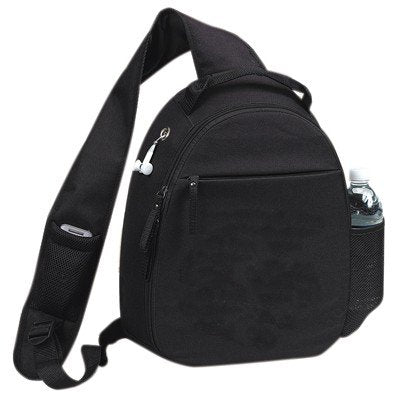 Yens Fantasybag  Global  Mono-Strap Backpack-Black,6BP-09