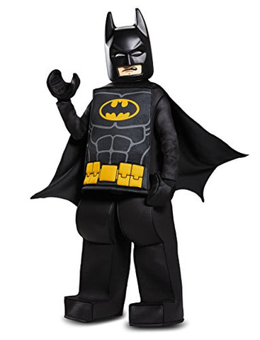 Batman LEGO Movie Prestige Costume, Black, Medium (7-8)