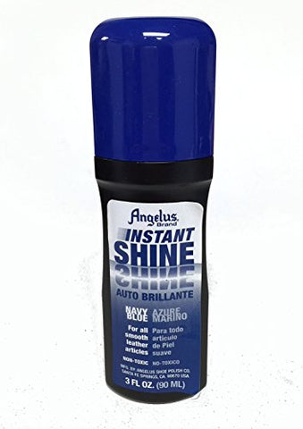 Angelus Instant Shine 2 .5 Oz Navy Blue