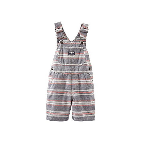 OshKosh B'gosh Striped Shortalls - Baby Boys (6 Months)